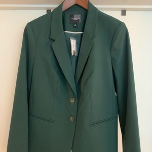 NWT The Limited Hunter Green Work Blazer SIZE 12